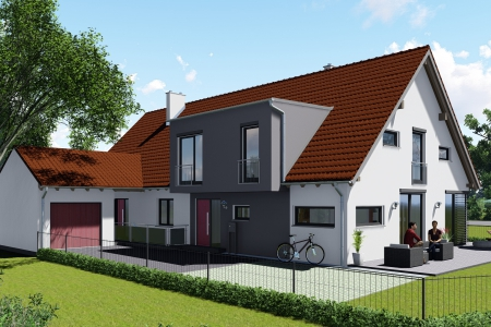 Anbau-eines-Einfamilienhauses-an-Bestandsgebäude-in-Kaufering-Bild-1