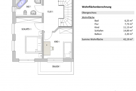 Bocs Bau Haus 1-OG