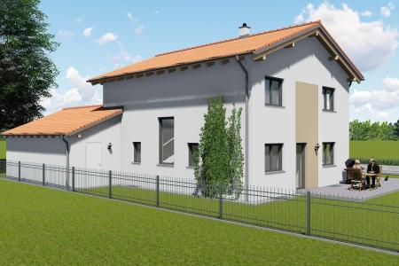 Neubau eines Einfamilienhauses in Untermeitingen Bild 2