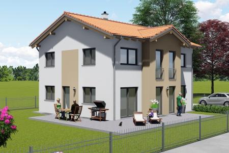 Neubau eines Einfamilienhauses in Untermeitingen Bild 3