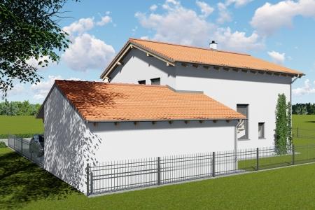 Neubau eines Einfamilienhauses in Untermeitingen Bild 4