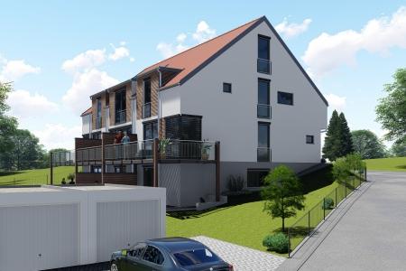 Neubau von 3 Reihenhäusern Bild-3