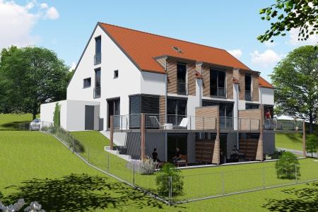Neubau von 3 Reihenhäusern Bild-4