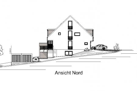 Neubau von 3 Reihenhäusern -AN-Nord