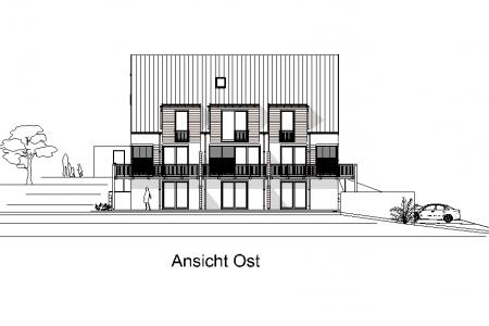 Neubau von 3 Reihenhäusern-AN-Ost