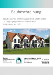 thumbnail of Baubeschreibung 1